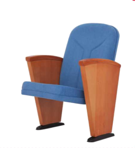Rom Long Wooden Arm Conference Chair